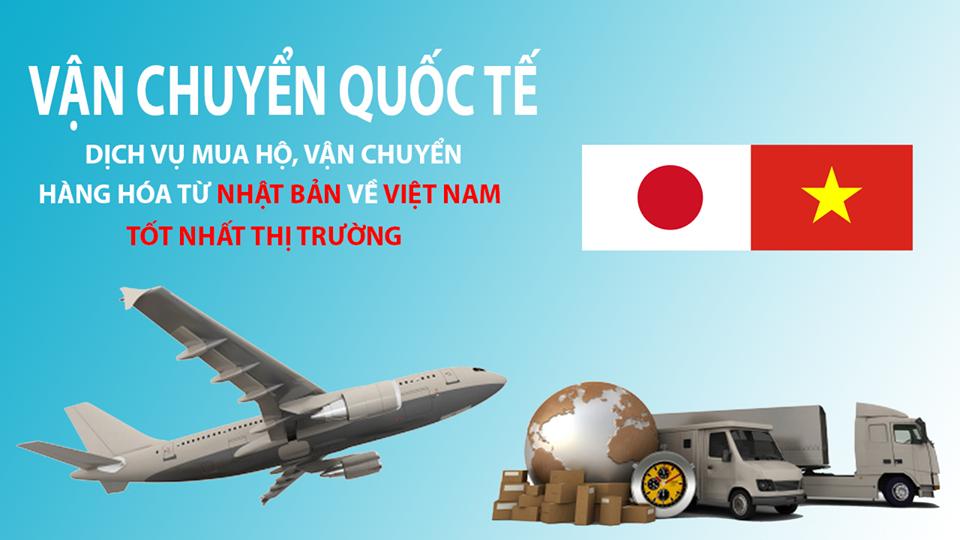 Dịch vụ gửi hàng Việt Nam sang Nhật giá cạnh tranh, uy tín
